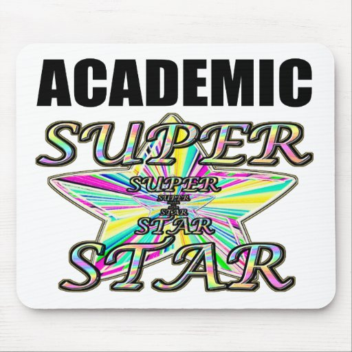 Academic Superstar Mouse Pad