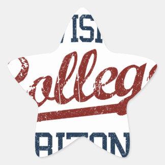 academy division college star sticker