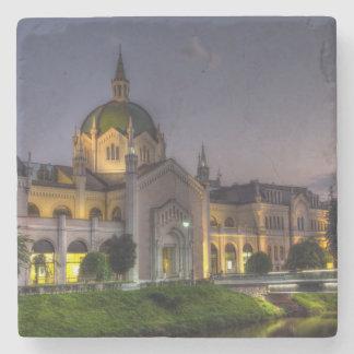 Academy of Fine Arts, Sarajevo, Bosnia and Herzego Stone Coaster