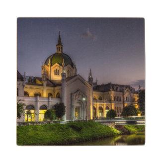 Academy of Fine Arts, Sarajevo, Bosnia and Herzego Wood Coaster