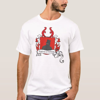 Academy of Villainy coat of arms T-Shirt