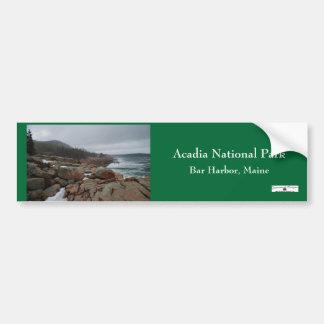 Acadia Bumpersticker - 3 Bumper Sticker
