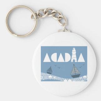 Acadia Key Ring
