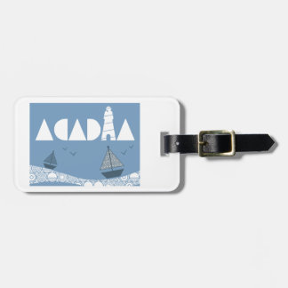 Acadia Luggage Tag