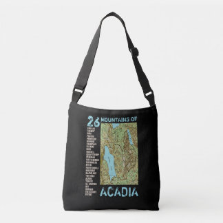 ACADIA MAP CROSSBODY BAG