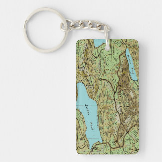 ACADIA MAP KEY RING
