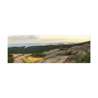 Acadia National Park - Cadillac Mountain Sunset Canvas Print