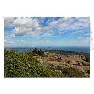 Acadia National Park Card