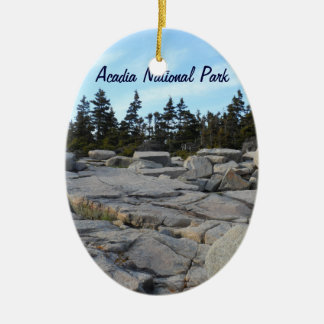 Acadia National Park, Maine Ceramic Ornament