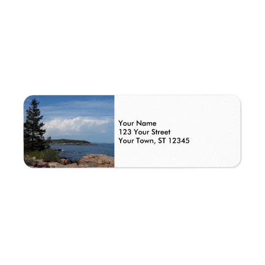 Acadia National Park, Maine Return Address Label