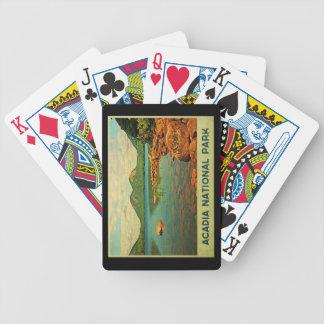 Acadia National Park Poker Deck