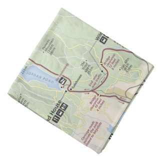Acadia Park Loop Road map bandana