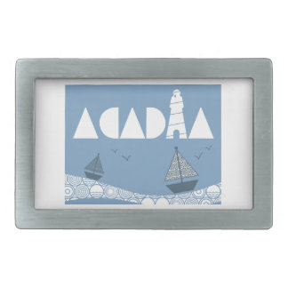Acadia Rectangular Belt Buckle