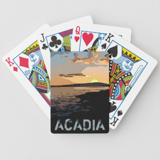 ACADIA SUNSET BICYCLE PLAYING CARDS
