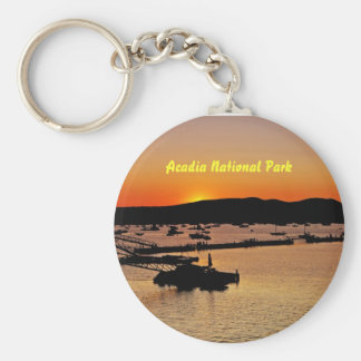 Acadia Sunset Keychain