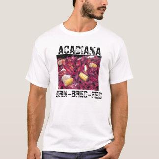 Acadiana Born-Bred-Fed crawfish photo T-Shirt