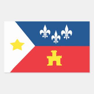 Acadiana Cajun Flag Stickers