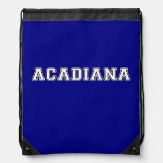 Acadiana Drawstring Bag