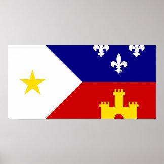 Acadiana, ethnic poster
