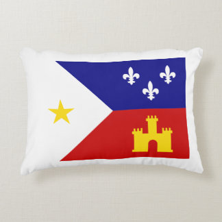 Acadiana-flag pillow accent cushion