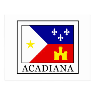 Acadiana Postcard
