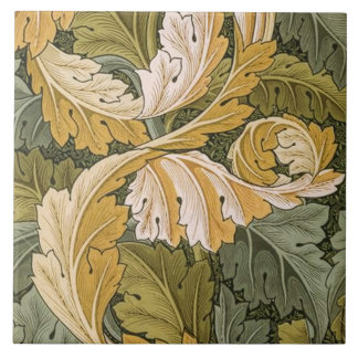 Acanthus designed by William Morris 1875 Tile