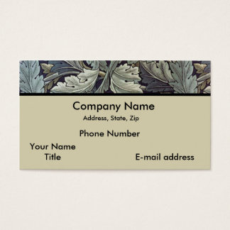 Acanthus Leaves Business Card