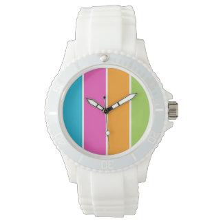 Acappella Sounds Stripes Wrist Watch