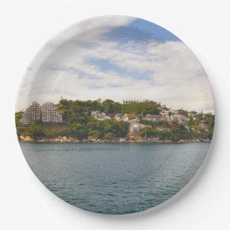 Acapulco Mexico Paper Plate