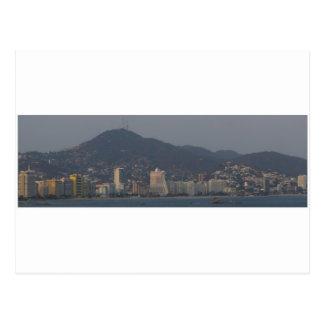 Acapulco panorama 6 postcard