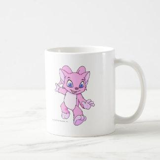 Acara Pink Basic White Mug