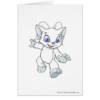 Acara White Greeting Card