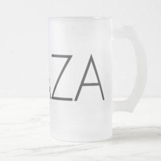 ACAZA FROSTED GLASS MUG
