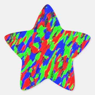 Accent Customizable Star Sticker