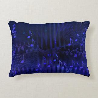 Accent Pillow - Musical Digital Art: Concert Hall Accent Cushion