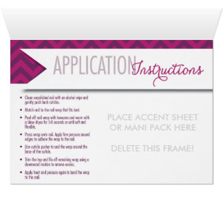 Accent Sheet or Mani Pack Notecard with Envelope Note Card