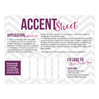 Accent Sheet Postcards