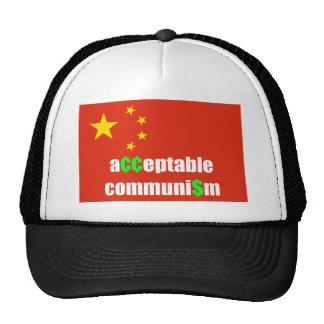 acceptable communism trucker hats