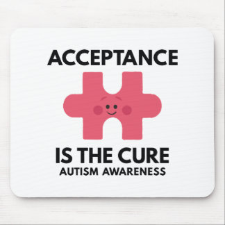 Acceptance Is The Cure Mouse Pad