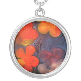 accesories round pendant necklace
