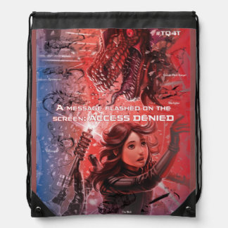 """""""Access Denied"""" from Unleash - Drawstring Backpack"""