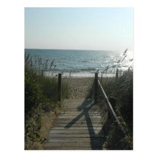 Access To The Beach Postcard
