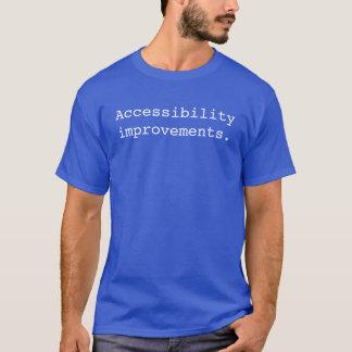 Accessibility improvements T-Shirt