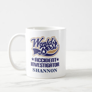 Accident Investigator Personalized Mug Gift