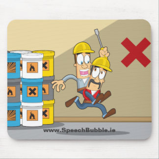 Accident Prevention 18 Mouse Mat