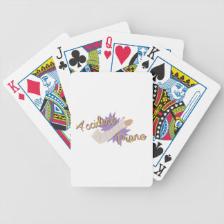Accident Prone Bicycle Playing Cards