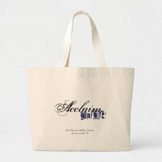 Acclaim Choir Tote Bag with Blue