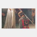 Accolade - The Knight Rectangular Sticker
