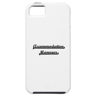 Accommodation Manager Artistic Job Design iPhone 5 Cover