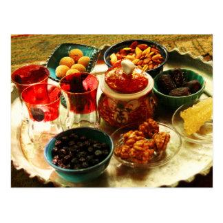 Accompaniments for Iranian tea Postcard